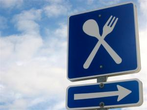 Food-Road-Sign-Small